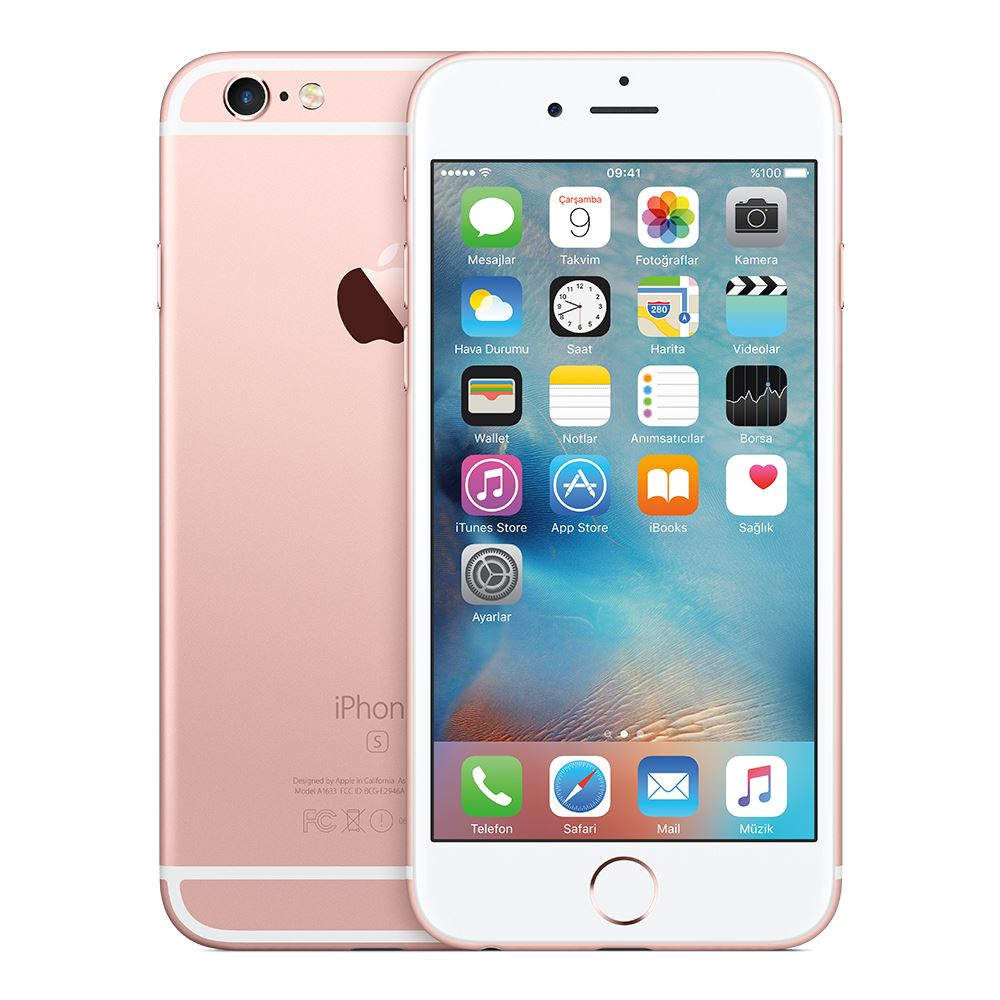 iphone 6s plus 128 gb akilli telefon rose gold vatan. Black Bedroom Furniture Sets. Home Design Ideas