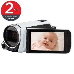 CANON LEGRIA HF-R606 BEYAZ DİJİTAL VİDEO KAMERA (ESSENTIAL PACK)