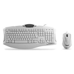EVEREST Rampage KM-R5 Kablolu Gaming Klavye Mouse Set Beyaz