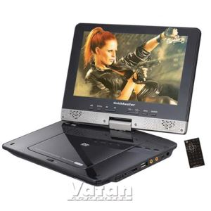 GOLDMASTER  PD-925   - Portable 9'' DVD Player  ( 300 Oyun + 2 Konsol hediye)