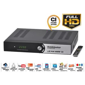 HD-22000 CI PVR DİGİTAL UYDU ALICISI