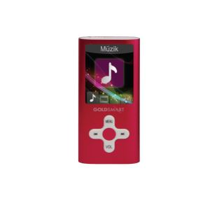 GOLDMASTER MP4-224 8GB MP4 PLAYER (KIRMIZI)