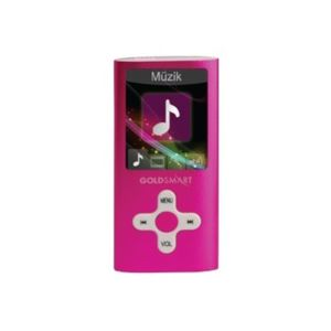 GOLDMASTER MP4-224 8GB MP4 PLAYER PEMBE