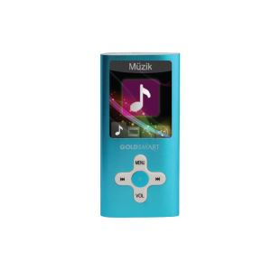 GOLDMASTER MP4-224 8GB MP4 PLAYER (MAVİ)
