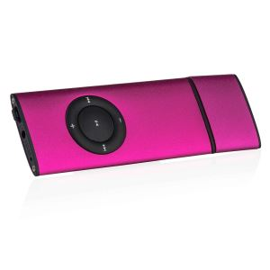 GOLDMASTER SLIM8 MP3 PLAYER(PEMBE)