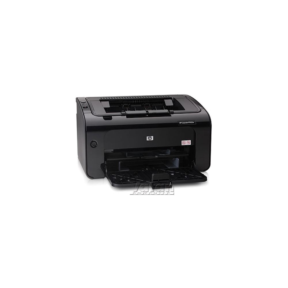 how to connect hp laserjet p1102w to wifi