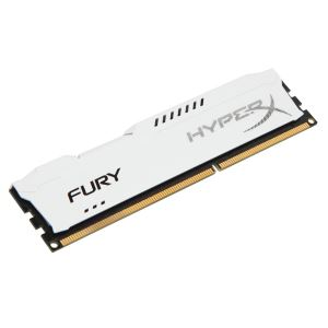Kingston 8GB Hyperx Fury DDR3 1600MHz CL10 White PC Ram