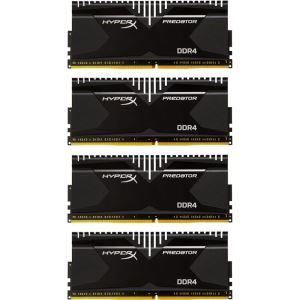 Kingston 16GB (4x4GB) HyperX Predator DDR4 2800MHz CL14 1.35V XMP Ram