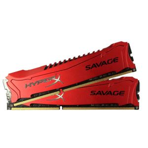 Kingston 8GB (2x4GB) HyperX Savage RED DDR3 1600MHz CL9 XMP Ram