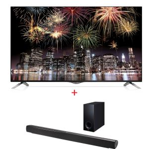 LG 49UB830V TV + NB2540 SES SİSTEMİ BUNDLE KAMPANYASI
