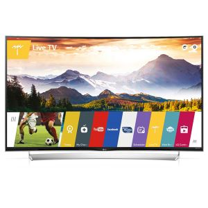 LG 55UG870V 55''(139 CM) 4K UHD 3D WEBOS SMART CURVED LED TV,DAHİLİ UYDU ALICI