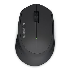 LOGITECH M280 WIRELESS MOUSE (BLACK)