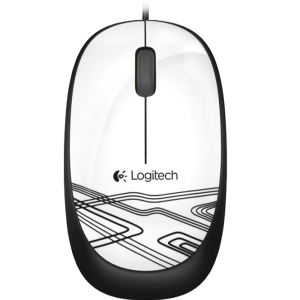 LOGITECH M105 MOUSE (WHITE)