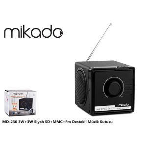 MIKADO MD-236 USB+SD+MMC+FM RADYOLU MİNİ SPEAKER