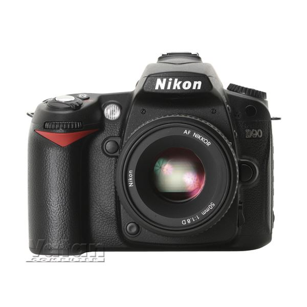 NIKON D90 KIT 12.3 MP SLR DIJITAL FOTOGRAF MAKINESI (18-105 mm VR LENS)