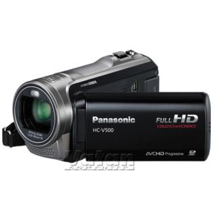 PANASONIC HC_V500 VİDEO KAMERA(SİYAH)