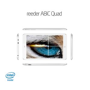 REEDER A8iC QUAD INTEL ATOM Z3735F 1.83GHZ-1GB-16GB DİSK-8''-CAM-BT-AND.4.4