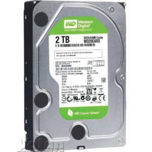 "WD 3.5"" 2TB Caviar Green Sata 3.0 64MB Cache intellipower Harddisk"